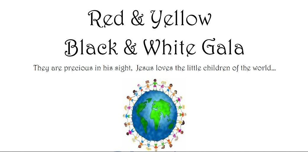 Red & Yellow, Black & White Gala
